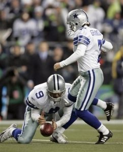Who would have guessed Tony Romo isn't good with balls?  Not me.