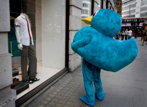 because even Blue Duck gets lonely